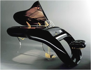 12 modern grand piano